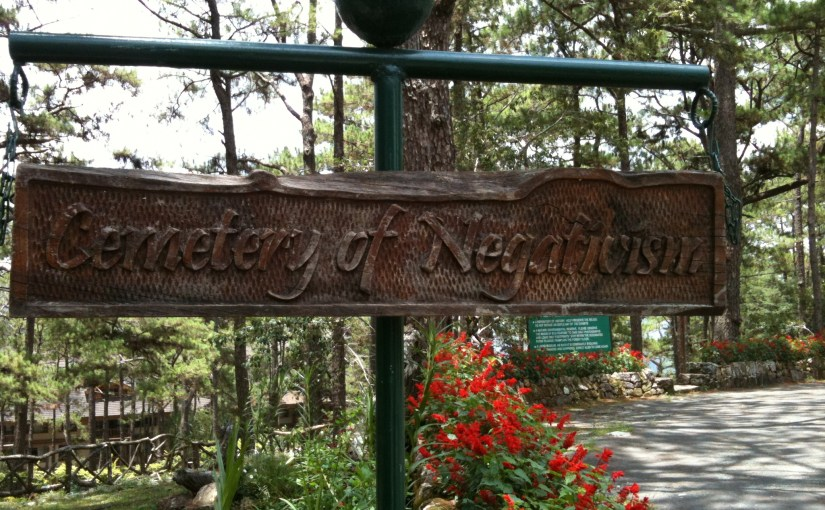 Reflections, Inspirations and Perceptions : Cemetery of Negativism in Focus