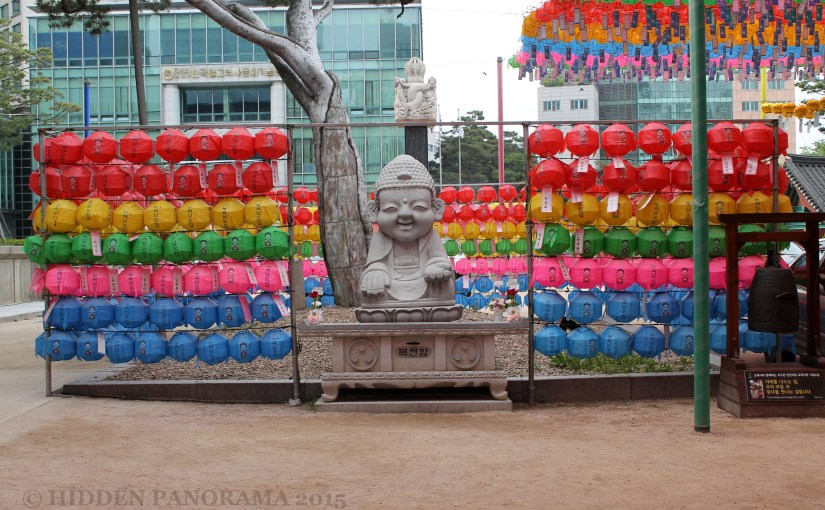 Colors : At Jogyesa Area – Baby Buddha