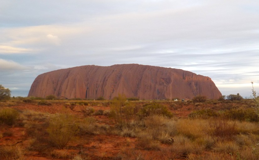 Uluru / Ayers Rock – An Island Mountain Rock With Sacred Significance And Australia's Outback Landmark