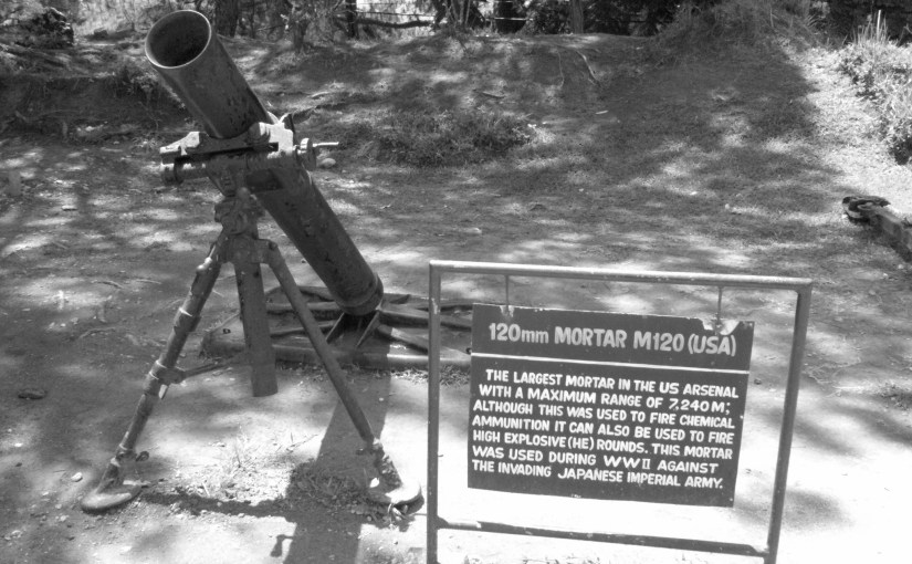 Chromatic Outlook : Mortar M120 (USA) At Relics Point