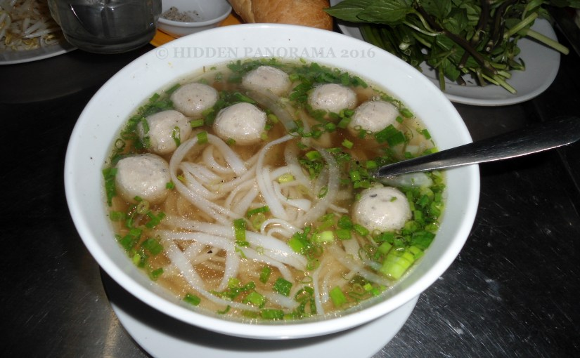 Edible : Vietnam – Pho Chicken Balls