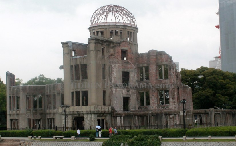 A Bomb Dome – Symbol of 'Peace City' – Hiroshima City