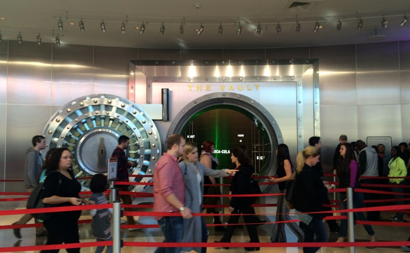 Still Expression : World of Coca-Cola's The Vault – Queuing and Waiting