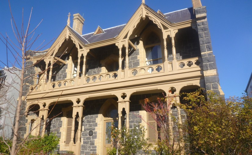 Structure :  The Gothic House (No. 157 Hotham Street)