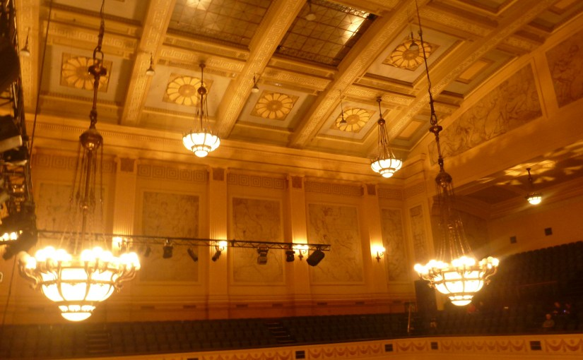 Interior : Melbourne Town Hall – Main Hall