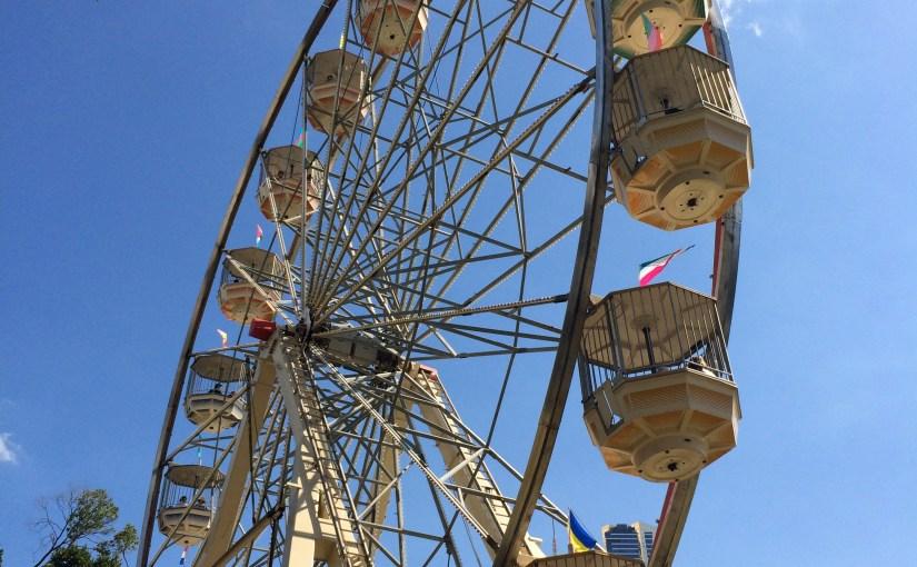 Theme : Amusement Park Rides – Moomba Festival Carnival Rides