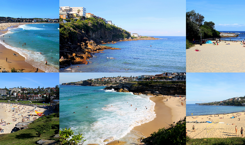 "Sydney Beaches … A Scenic Walk From Bondi To Coogee (in ""We're the Travelers"")"