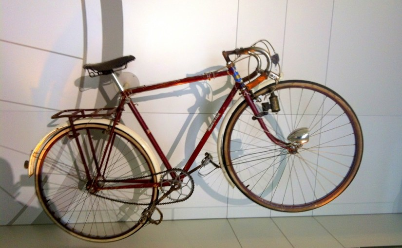 Discovery : Ernie Old's Malvern Star Bicycle