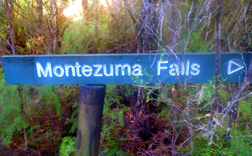 Name Of The Place : Montezuma Falls