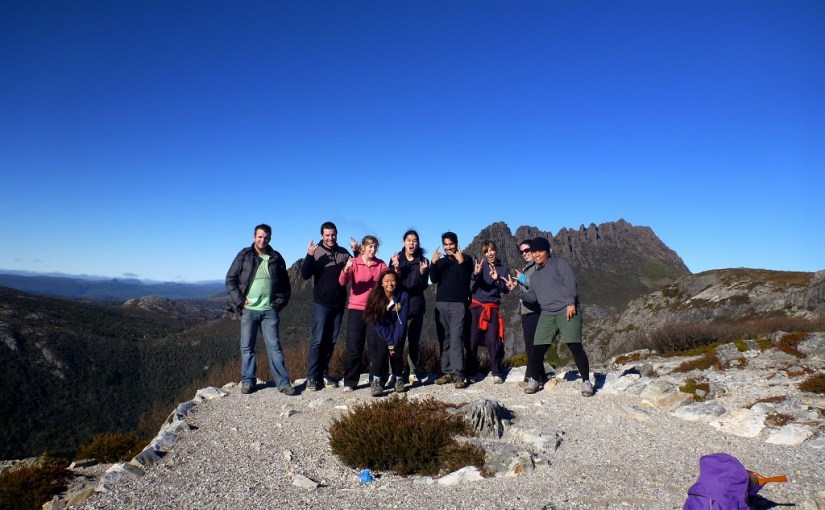 Juncture With Folk(s) : At Cradle Mountain