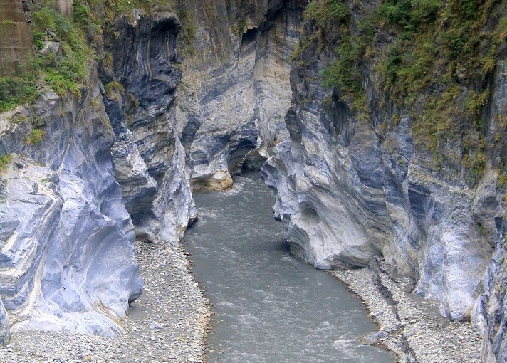 View At My Window : Taroko Gorge's Indian Chief Rock