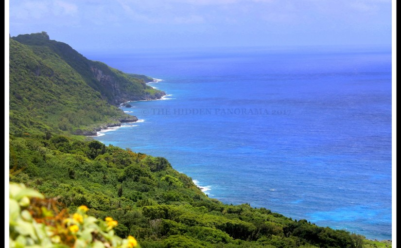 Picture Frame : North-East Coast Scenic View at Yigo