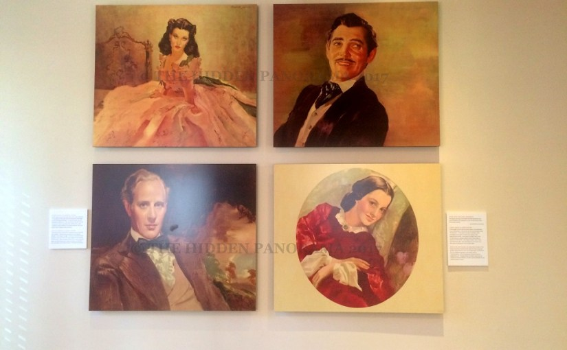Arts and Craft : Gone With the Wind Portraits By Dan Sayre Groesbeck