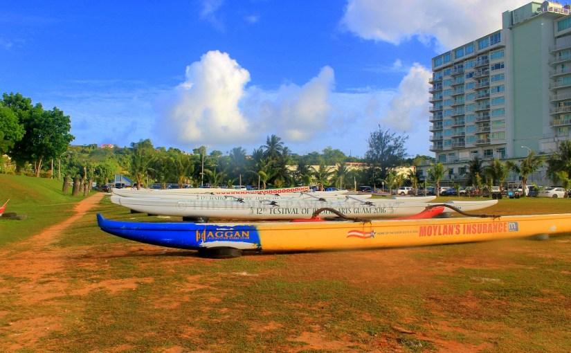 Transportation : Matapang Beach, Guam – Canoe