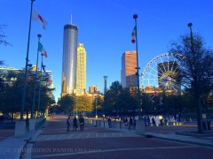 Strolling at Centennial Olympic Park (Atlanta Walk Part 4)