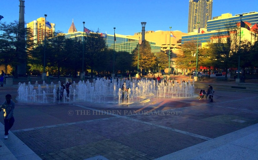 Discovery : Centennial Olympic Park – Fountain of Rings