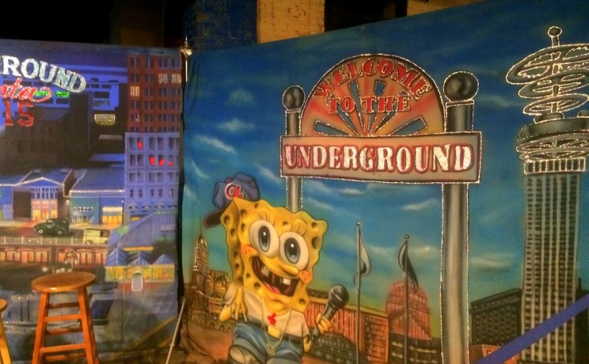 Strolling at Underground Atlanta (The City Beneath the City – Atlanta Walk Part 6)