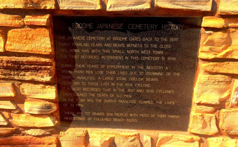 Something To Look At : Broome Japanese Cemetery