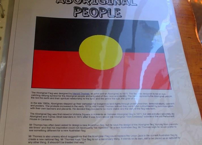 Discovery : Australian Aboriginal Flag