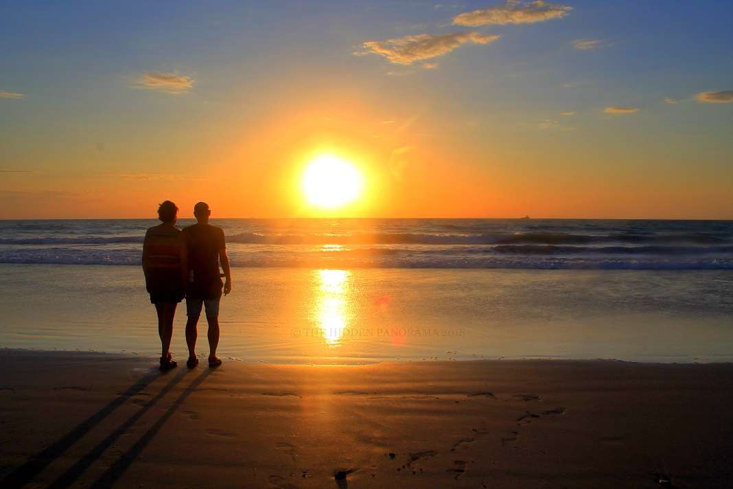 People : Couple and Sunset - Perfect !!!
