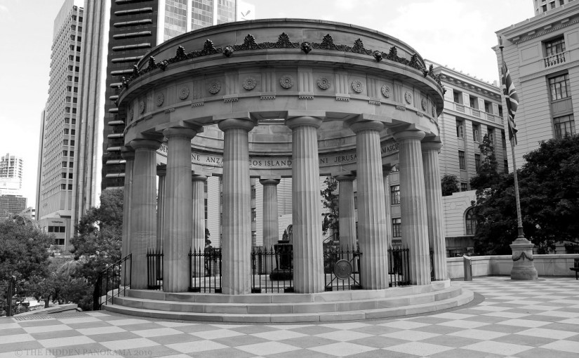 Chromatic Outlook : ANZAC Square Shrine of Remembrance