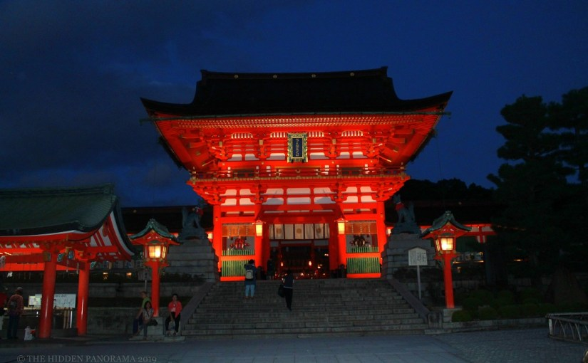 Twilight : Fushimi Inari Taisha – Romon (Main Gate)