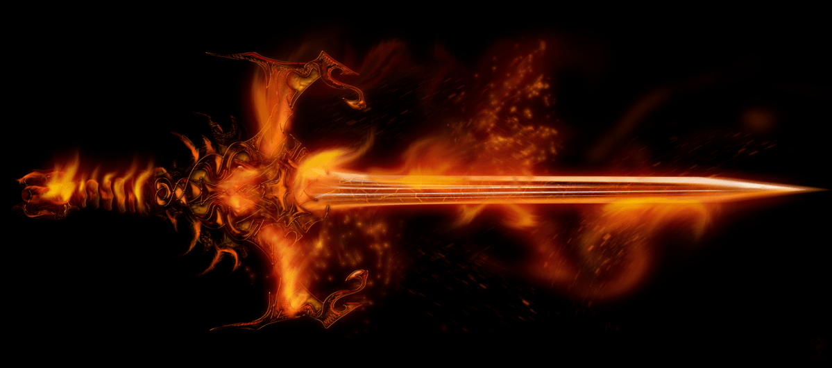 Seen as metal forged by fire, the Geng Wu is often pictured as a sharp and shiny sword, gleaming with latent power and potency.