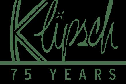 Klipsch 75th Anniversary Logo - Vertical - Black-a39705d0