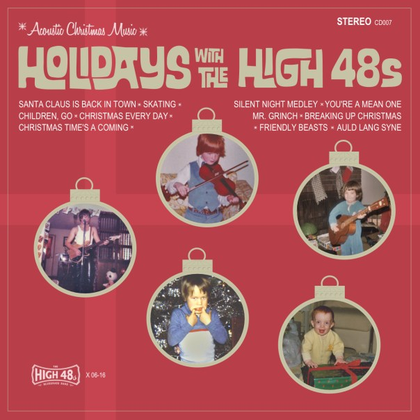 Holidays with The High 48s Album Cover
