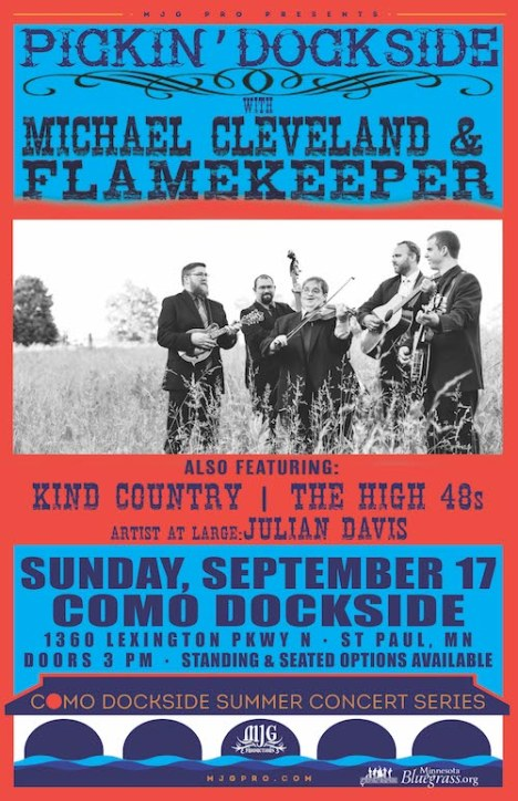 Pickin' Dockside with Michael Cleveland & Flamekeeper