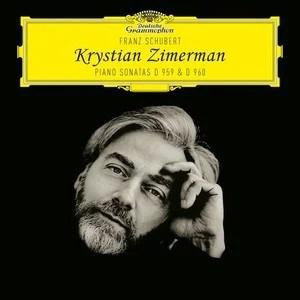 Zimerman Schubert Sonatas D959 and D960 CD cover