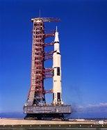 Apollo 11 before launch