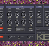 Download Kern a Free MIDI Controlled Synthesizer