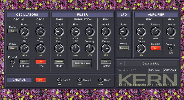 Kern midi controlleur free vst