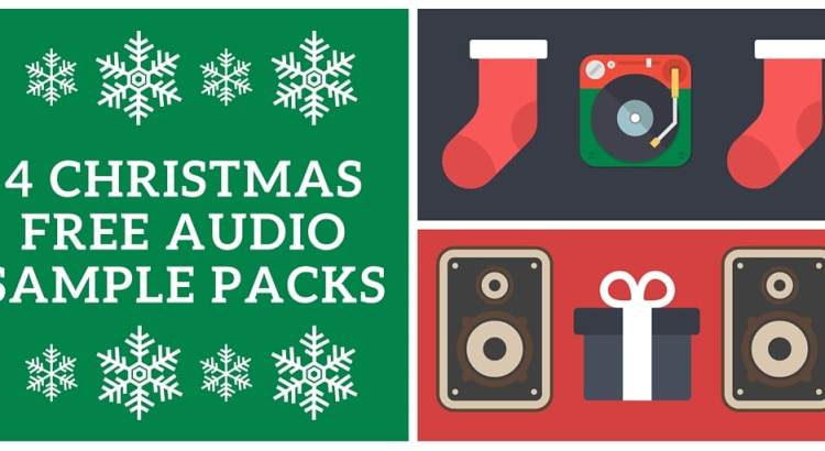Free sample packs for Christmas