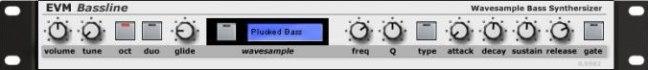 EVM Bassline Wave Sample free VST