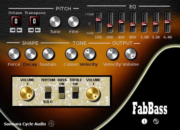 FabBass free VST plugins
