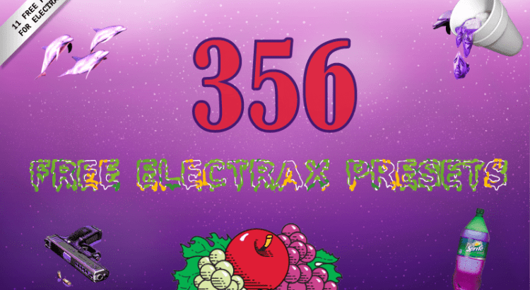 356 Free Trap & EDM presets for ElectraX VST