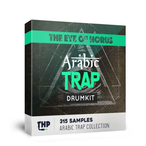 Middle east Drum Kit - The Eye of Horus