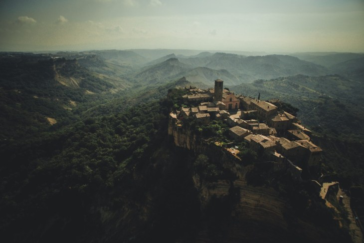 Civita di Bagnoregio, the dying town