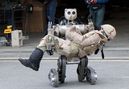 Future Tech DARPAs Rescue Mission Robots The High Tech Society