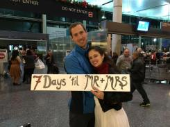 Airport 7 days wedding