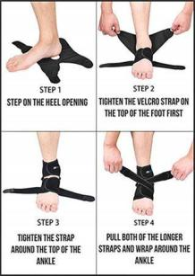 This guide to treating a lower leg injury outdoors will explain how to improvise an ankle brace.