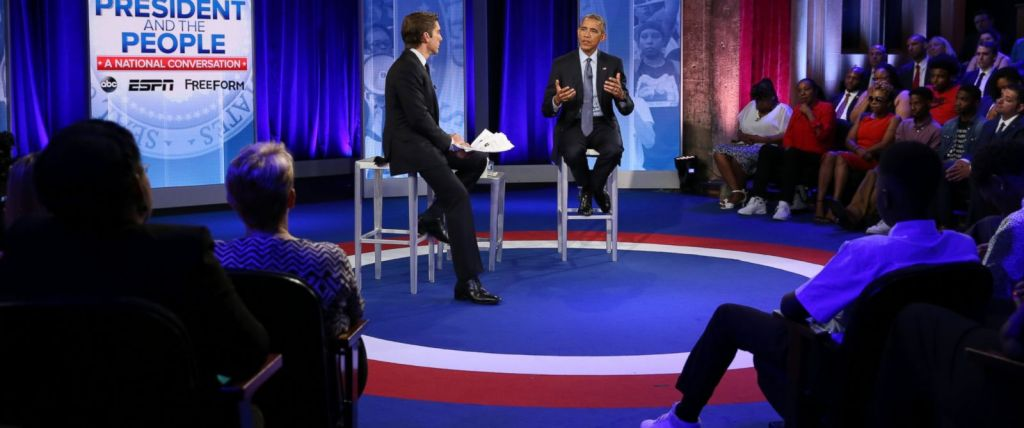 Howard University Student Asks Question on Safety to Obama During #POTUSTownHall
