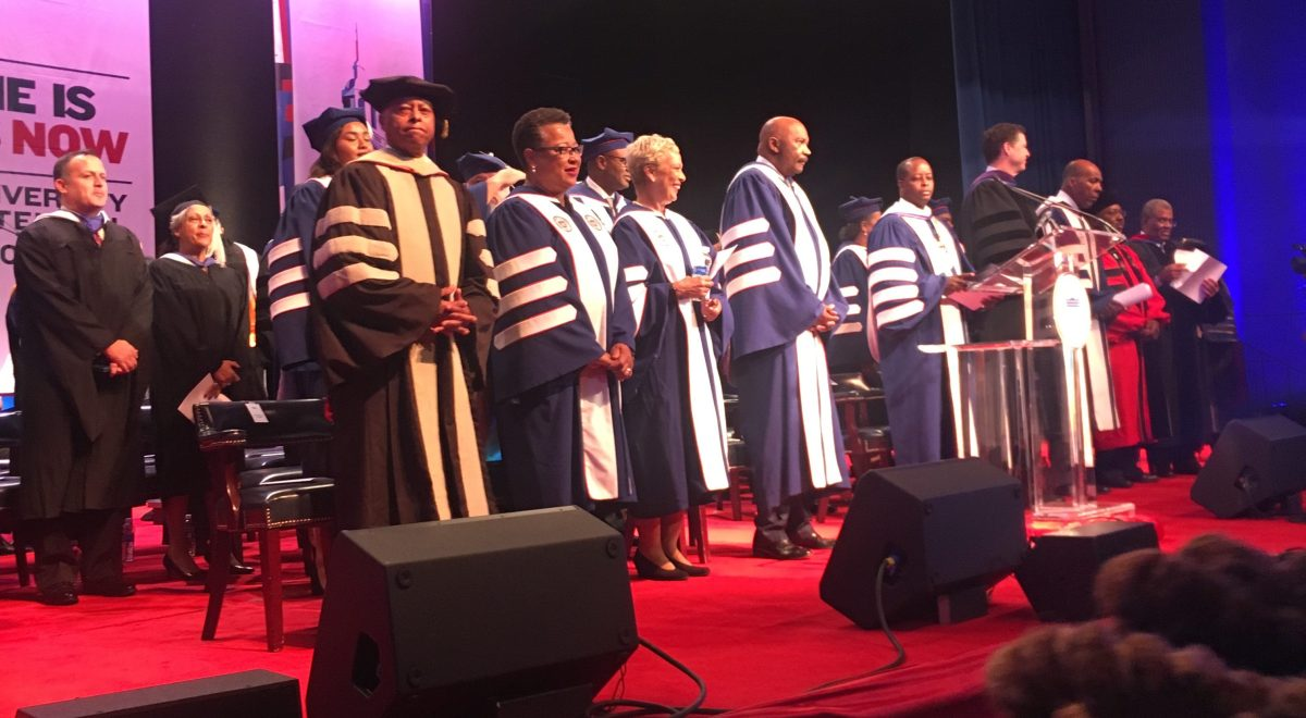 James Comey Speaks at Howard University Opening Convocation Amid Protests