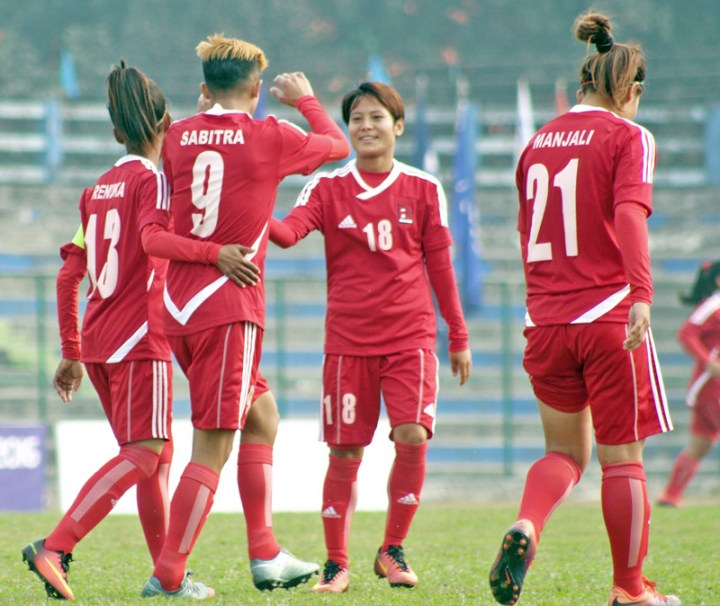 Nepal lose to India in SAFF Women's Championship semifinal - The Himalayan  Times - Nepal's No.1 English Daily Newspaper | Nepal News, Latest Politics,  Business, World, Sports, Entertainment, Travel, Life Style News