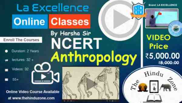 Video Course of NCERT Anthropology