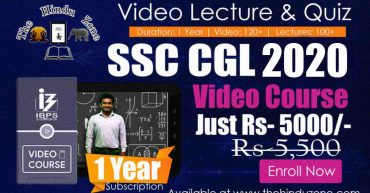 Video Course SSC CGL 2020 1 Year Subscription