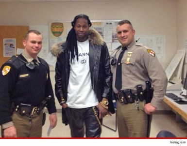 2 Chainz and Maryland Police