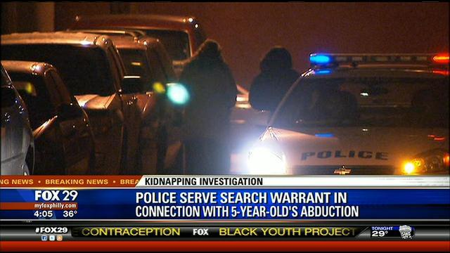 Philly PD serves warrant on 62 Walton Ave. In 5 year old abduction Investegation